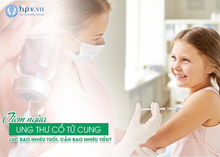 Tiêm vắc xin ngừa ung thư cổ tử cung hiệu quả nhất lúc bao nhiêu tuổi?
